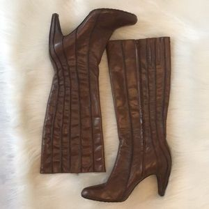 Tsubo Shoes - TSUBO leather knee high boots